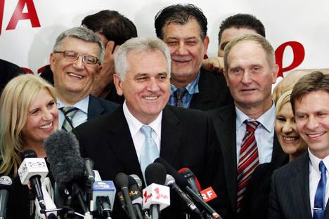 Der neue serbische Präsident Tomislav Nikolic. Foto: Reuters