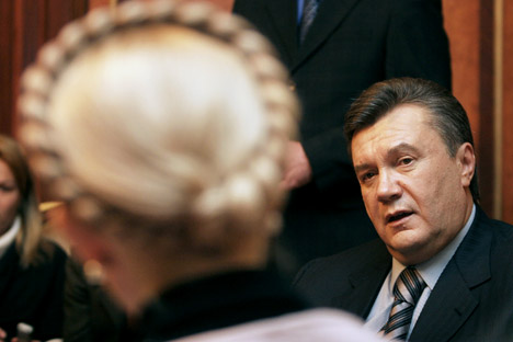 Der Fall Timoschenko wird seinen Einfluss auf die russisch-ukrainischen Beziehungen haben. Foto: ITAR-TASS