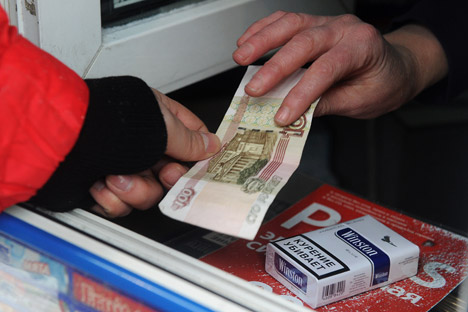 Bald wird ein Hunderter für eine Packung Zigaretten nicht ausreichen. Foto: ITASS-TASS