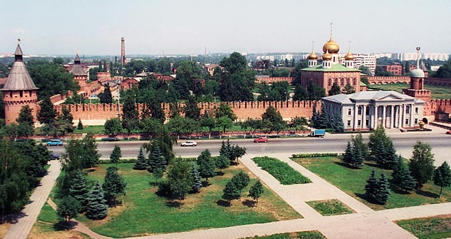 Der Blick auf den Kreml in Tula Foto: PhotoXPress