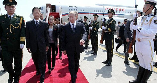 Der russische Präsident Wladimir Putin reist zum Antrittsbesuch nach Peking. Foto: kremlin.ru