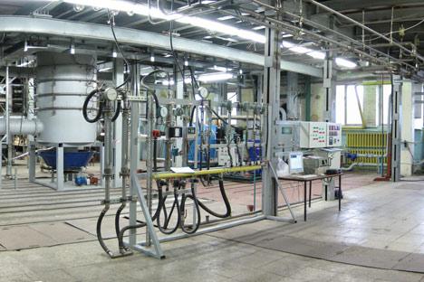 Die Abfälle werden in der Anlage in ihre Moleküle zersetzt und verwandeln sich in ein harmloses Gas. Foto: ITAR-TASS