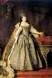 Unter Annas Regierung erhielten die baltendeutschen Günstlinge der Kaiserin einen großen Einfluss. Bild: aus offenen Quellen