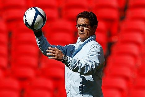 Fabio Capello ist der neue Chef der russischen Fußball-Nationalelf. Foto: Reuters_Vostock-Photo