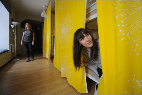 Das Moskauer Hostel Dom: wie zu Hause für 900 Rubel (22,5 Euro) pro Nacht. Foto: Photoshot/Vostock-photo