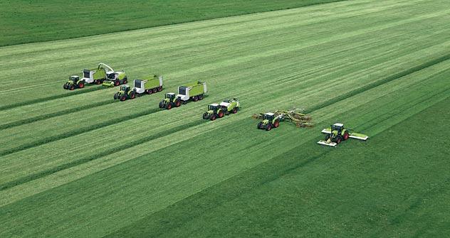Trotz des geplanten Beitritts Russlands zur WTO will der deutsche Landmaschinenhersteller Claas die Produktion in Russland ausbauen. Foto: Pressebild