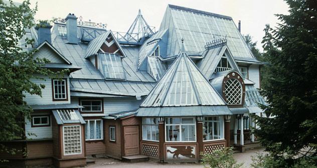 Russisch-finnische Wurzeln: in der Villa im ehemaligen finnischen Dorf Kuokkala hat Ilja Repin bis zu seinem Tod gewohnt Foto: RIA Novosti