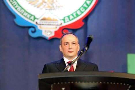 Der dagestanische Präsident Magomedsalam Magomedow. Foto: TASS