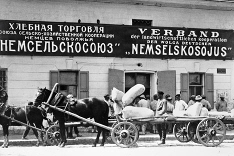 Bis zur Mitte des 20. Jahrhunderts war die deutsche Minderheit eine der zahlenstärksten in der Sowjetunion. Foto: RIAN
