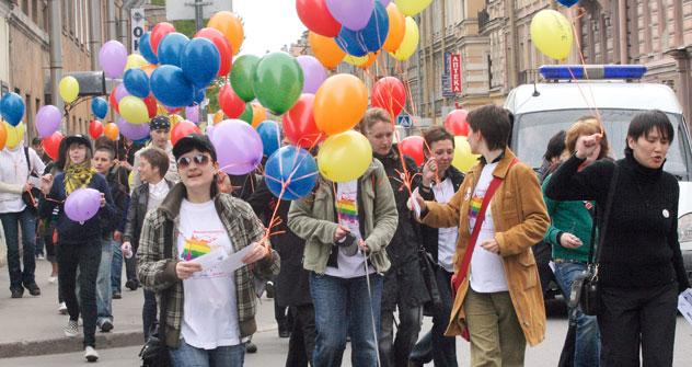 Homosexualität ist in Russland immer noch ein Tabuthema. Foto: TASS