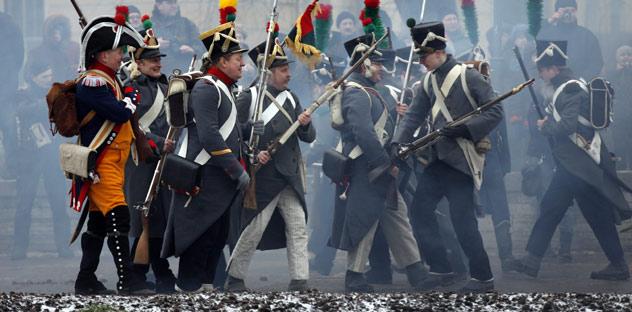 Von den mehr als 600000 Soldaten der napoleonischen Grande Armée, die im Juli 1812 die Grenzen Russlands überschritten, nur 60000 kehrten lebend aus Russland zurück. Foto: RIA Novosti