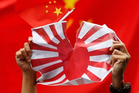 Der Inselstreit zwischen zwei Länder hat zu zahlreichen anti-japanischen Protesten in China geführt. Foto: AP.