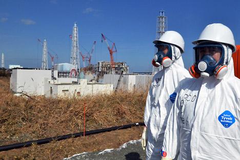 Die Folgen der Katastrofe am AKW Fukuschima 1 in Japan sind noch spürbar. Foto: AP.