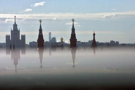 Weg vom Kreml: Vergrößertes Moskau soll ein neues politisches Zentrum werden. Foto:  Kommersant.