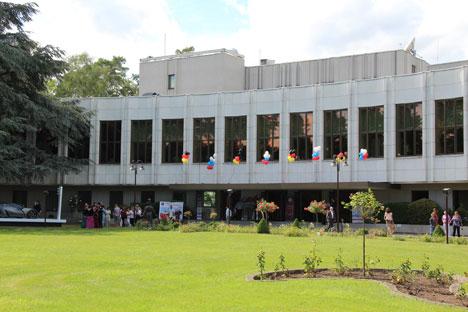 Der Sommerfest fand im russischen Generalkonsulat in Bonn statt. Foto: Elena Dozhina