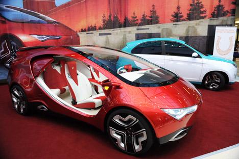 Yo-Mobil sollte das erste russische Hybridfahrzeug werden. Foto:  ITAR-TASS
