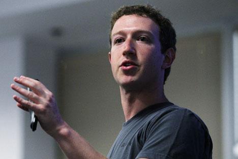 Russischer Markt steht bei Mark Zukerberg hoch im Kurs. Foto: Gettyimages/Fotobank.
