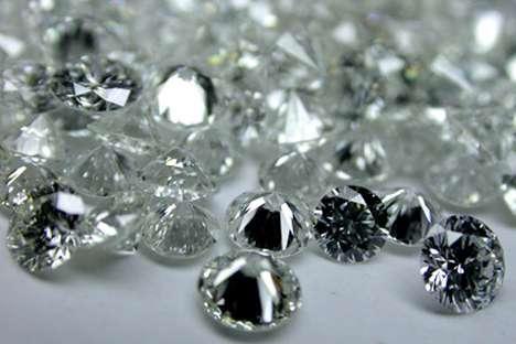 Die technischen Diamanten können können  eine Revolution in der Werkzeug-, Steinschneide- und Bohrindustrie bedeuten. Photo: EPA