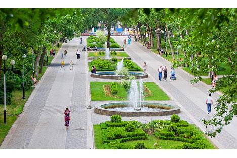 Die Bewohner der südrussischen Stadt Krasnodar können in den kommenden Tagen die deutsche Kultur näher kennenlernen. Foto: lori.