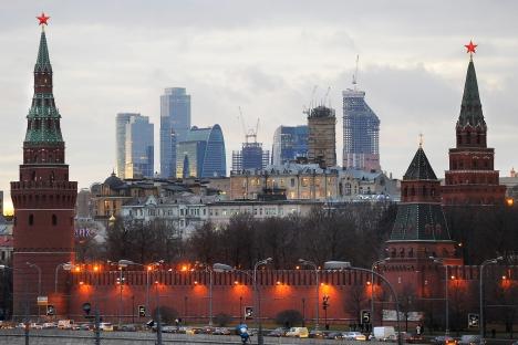 Moskau zieht Menschen aus der Provinz wie Magnet an. Aber das Leben dort ist nicht ist gar nicht so traumhaft. Foto: ITAR-TASS