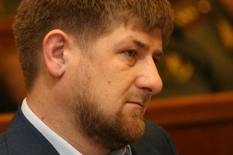 Pemimpin Chechnya Ramzan Kadyrov terkenal sebagai pemimpin muslim yang vokal.
