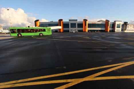Rund 60 Mio. Euro werden  in den Kaliningrader Flughafen Chrabrowo gesteckt. Foto: RIA Novosti.