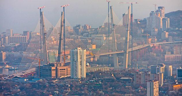 Die milliardenschweren Investitionen in die Infrastruktur des APEC-Gipfels  sollen das  Image von Russland verbessern. Foto:  Vitaly Raskalov