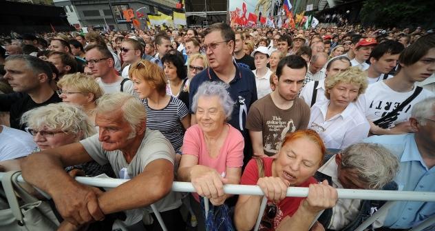 Die russische Opposition tritt in der neuen politischen Saison mit veränderten Losungen auf und fasst neue Ziele ins Auge. Foto: Ricardo Marquina Montañana / RBTH