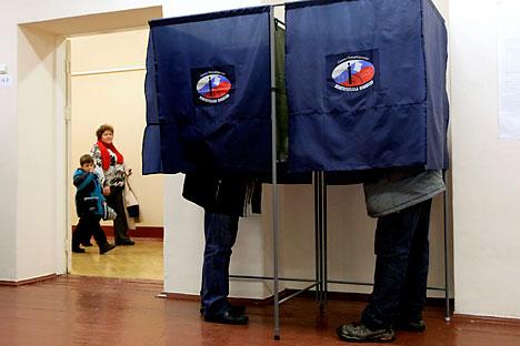 Die Ergebnisse der Kommunalwahlen in Russland können weitere Proteste provozieren. Foto: AP.