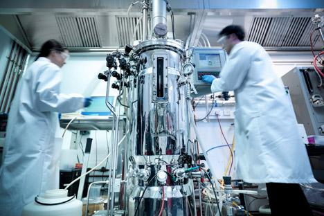 Das Experiment mit organischem Stoff: Russische Wissenschaftler versuchen, das Entstehen des Lebens auf Erden zu erklären. Foto: ALAMY Legion Media.