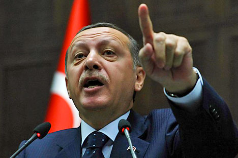 In dem syrischen Flugzeug wurde eine Militärladung gefunden, sagt der türkische Ministerpräsident Recep Tayyip Erdogan. Foto: Getty Images/Fotobank.