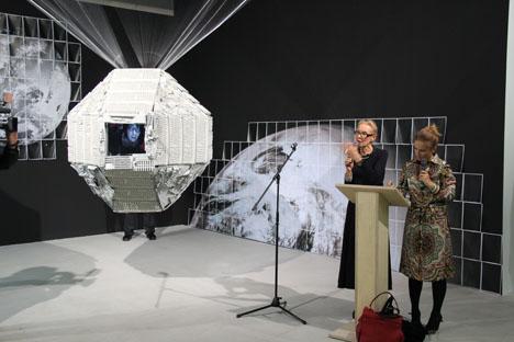 """Die Ausstellung """"I am who I am"""" findet in Düsseldorfer KIT statt. Foto: Elena Dozhina."""