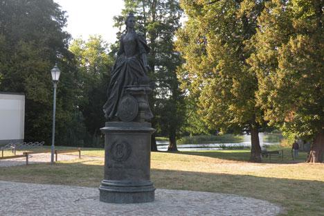 Katharina-Denkmal in Zerbst. Foto: Gernot Borriss.