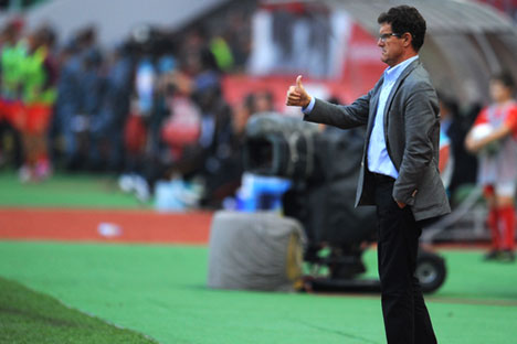 Unter Fabio Capello hat die russische Nationalmannschaft sich erheblich verändert. Foto: ITAR-TASS.