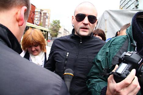 Organisiert Anti-Putin-Proteste in Russland: Sergej Udalzow. Foto: ITAR-TASS.