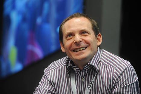 Yandex-Gründer Arkadi Wolosch: Auf jedem lokalen Markt muss man auch auf globale Suchanfragen antworten können. Foto: ITAR-TASS.