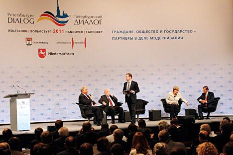 Der Dialog fruchtet nicht mehr richtig - deshalb sollte der Ansatz dahinter überdacht werden. Foto: ITAR-TASS.