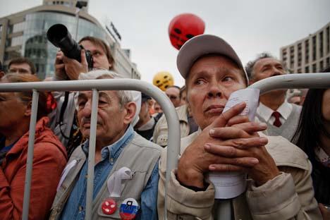 Olga Kryschtanowskaja: Das Protestpotenzial in Russland ist noch hoch. Foto: Ruslan Sukhuschin, Russland Heute.