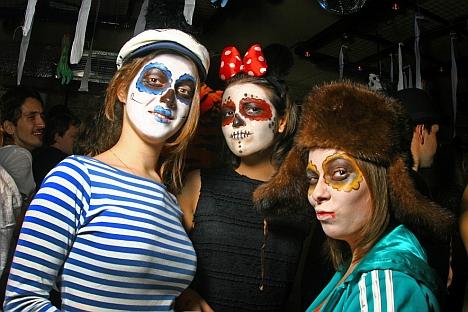 Halloween in Russland ist nur unter Jugendlichen beliebt. Foto: Prokhor Kolosow.