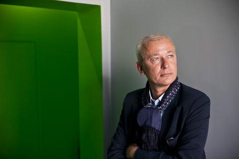 Der Architekt Anton Mossin: Russische Auftraggeber verlasen mehr auf die Intuition als auf die Logik. Foto: Mark Bojarski.
