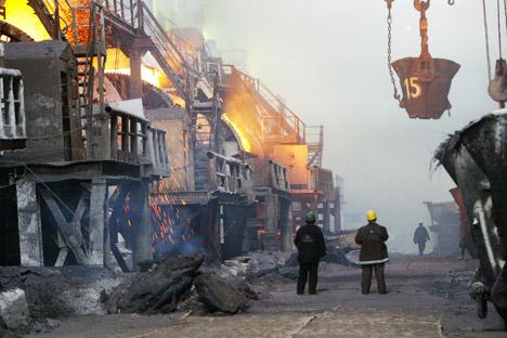 Geografisch abgelegen, aber immer im Mittelpunkt der Interessen von russischer Wirtschaftselite: Norilsk Nickel. Foto: PhotoXPress.