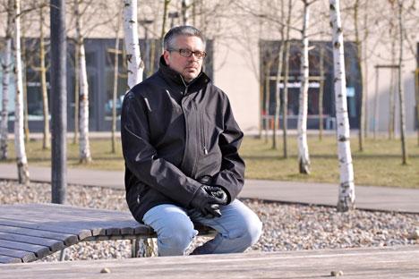 Schriftsteller Michail Schischkin. Foto aus dem persönlichen Archiv.