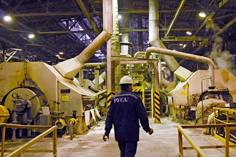 Die weltweite Nachfrage nach Metallen sinkt. Die Metallurgen behaupten jedoch, dass es keinen Anlass zur Beunruhigung gibt. Foto: ITAR-TASS.