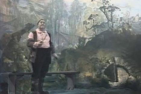 Bereits 1985 verfilmte Regisseur Wladimir Latischeff Tolkiens Buch für das Leningrader Fernsehen. Foto: Screenshot