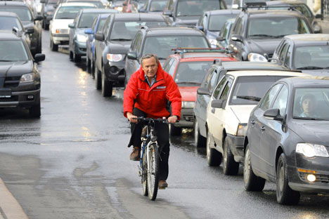 Manche Menschen in Moskau versuchen ein umweltfreundlicheres Leben zu führen. Die Mehrheit der Großstadtbewohner halten doch die Umweltprobleme für unwichtig. Foto: PhotoXPress.