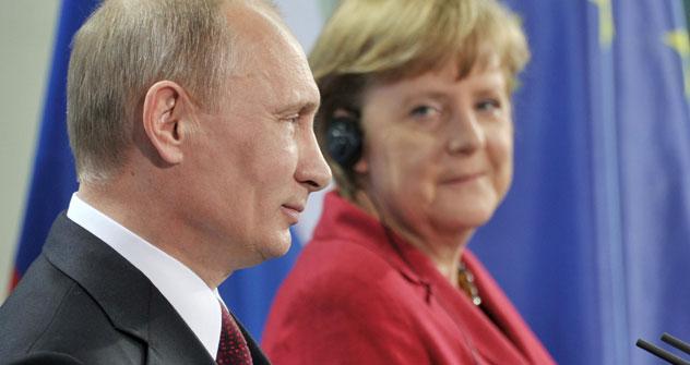 Die wirtschaftliche Beziehungen zwischen Deutschland und Russland entwickeln sich erfolgreich.  Auf politischer Ebene herrscht jedoch eine Krise. Foto: ITAR-TASS.