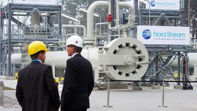 Gazprom plant eine zusätzliche Pipelinestränge durch die Ostsee zu bauen. Experten betrachten diese Absichten skeptisch. Foto: ITAR-TASS.