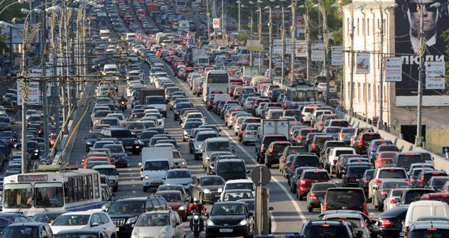 Die Vergrößerung Moskaus soll unter anderem die Transportprobleme der Hauptstadt lösen. Foto: RIA Novosti.