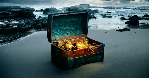 In Russland lassen sich mehr Schätze finden als woanders auf der Welt. Foto: Getty Images / Fotobank.