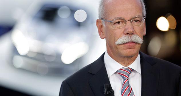 """Daimler-Geschäftsführer Dieter Zetsche: """"Wir hoffen, dass unsere Partnerschaft mit KAMAZ auch dazu führen wird, die russische Industrie weiterzuentwickeln"""". Foto: Getty Images/Fotobank"""